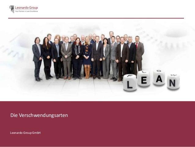 Die VerschwendungsartenLeonardo Group GmbH