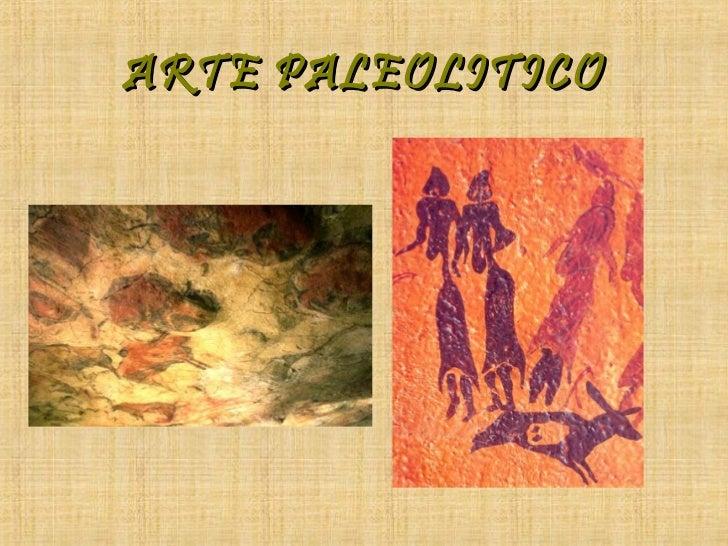 ARTE PALEOLITICO
