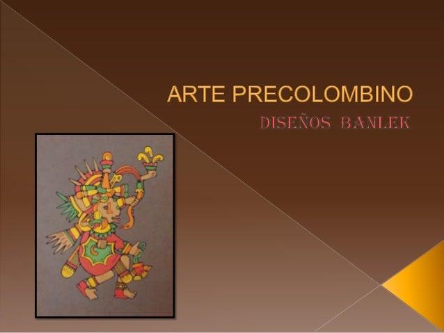 Arte precolombino i