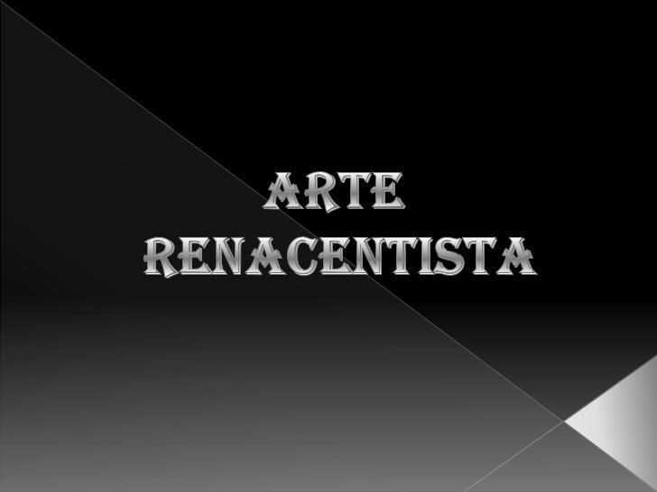 Arte renacentista