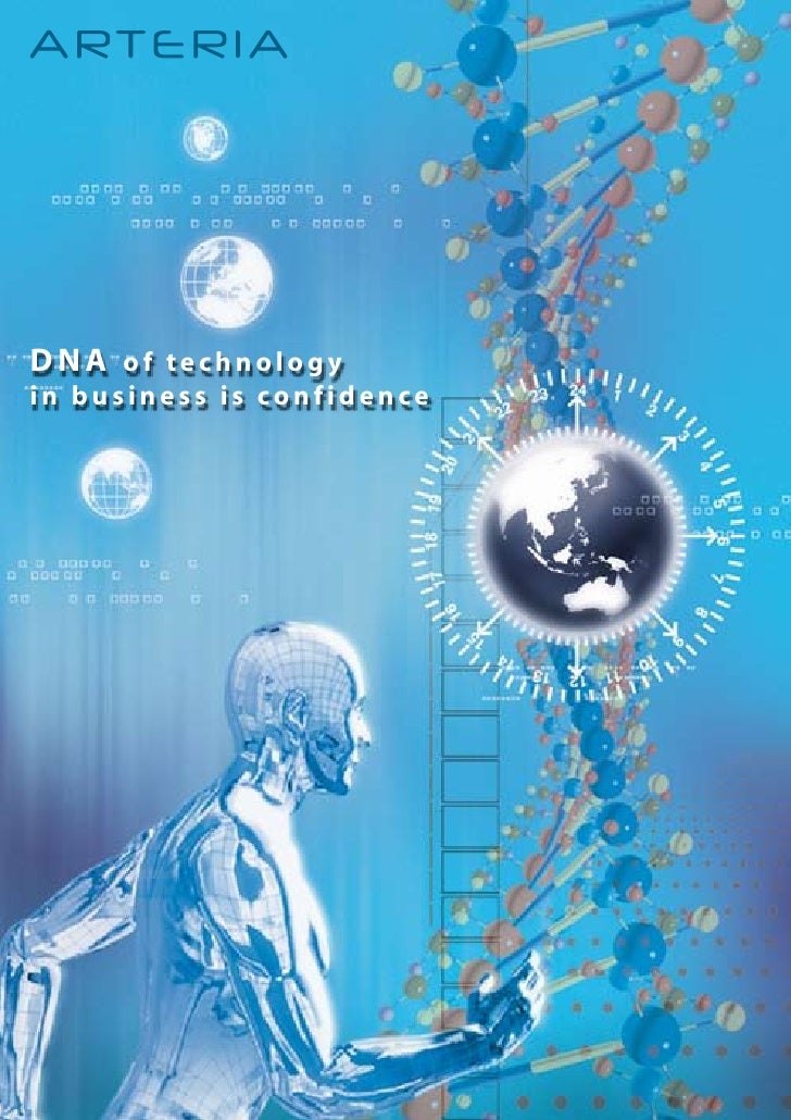 DNA of technology in business is confidence