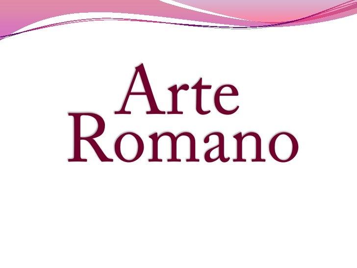 ArteRomano