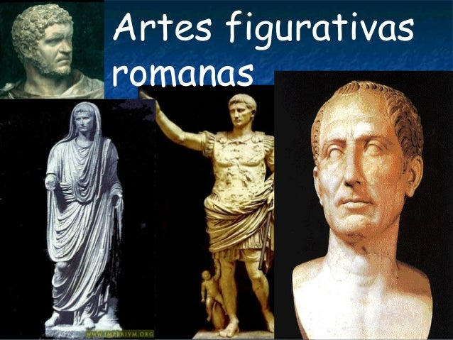 Artes figurativas romanas