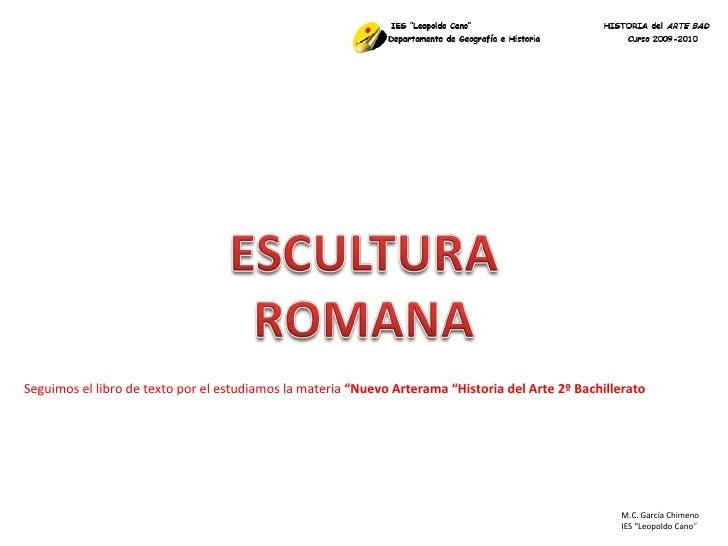 Arte Romano Escultura