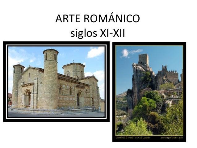 ARTE ROMÁNICO siglos XI-XII