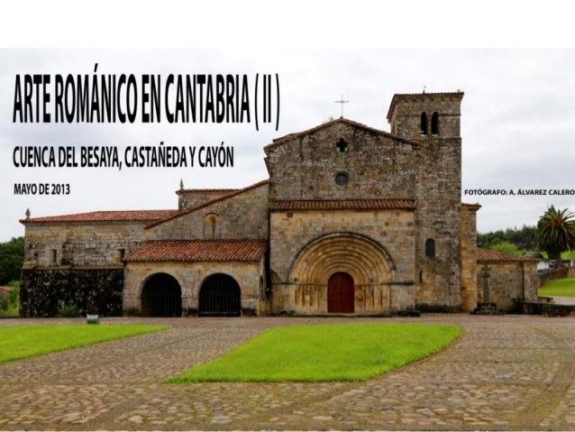 Arte románico en cantabria ( ii )