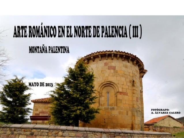 Arte románico en el norte de palencia ( iii )
