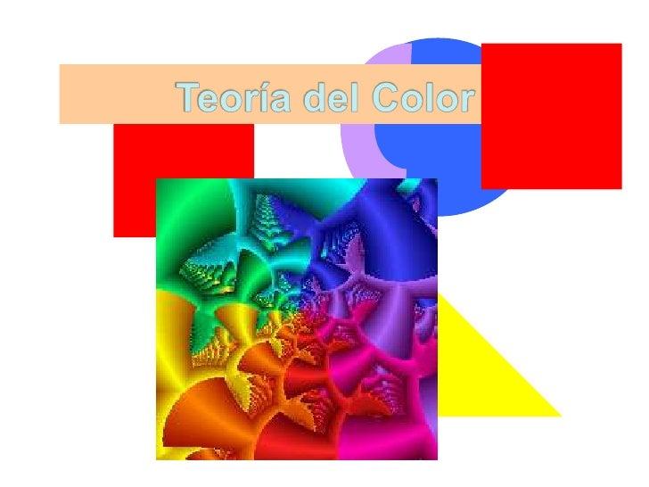 Teoría del Color<br />