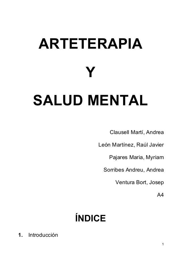 arteterapia y esquizofrenia pdf