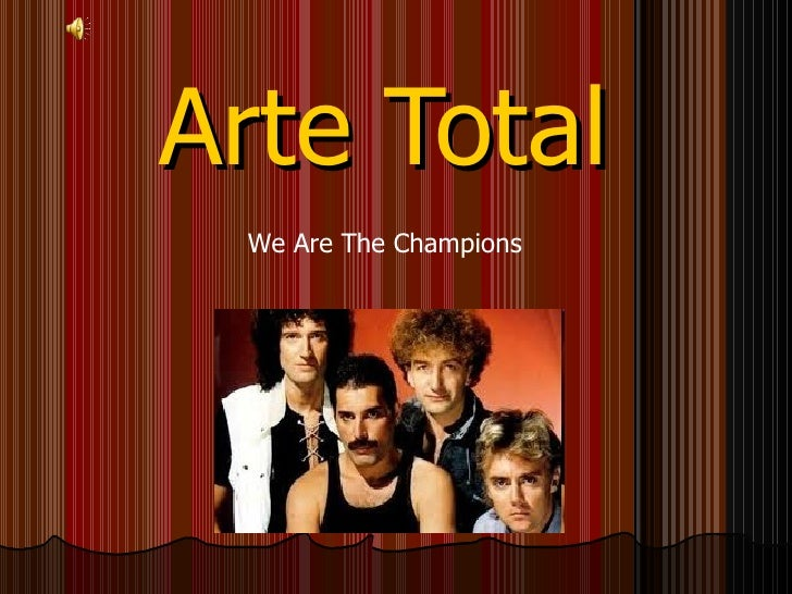 We are the Champions (Álvaro Santana)