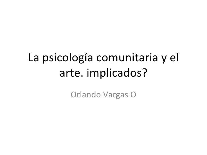Arte y psicologia