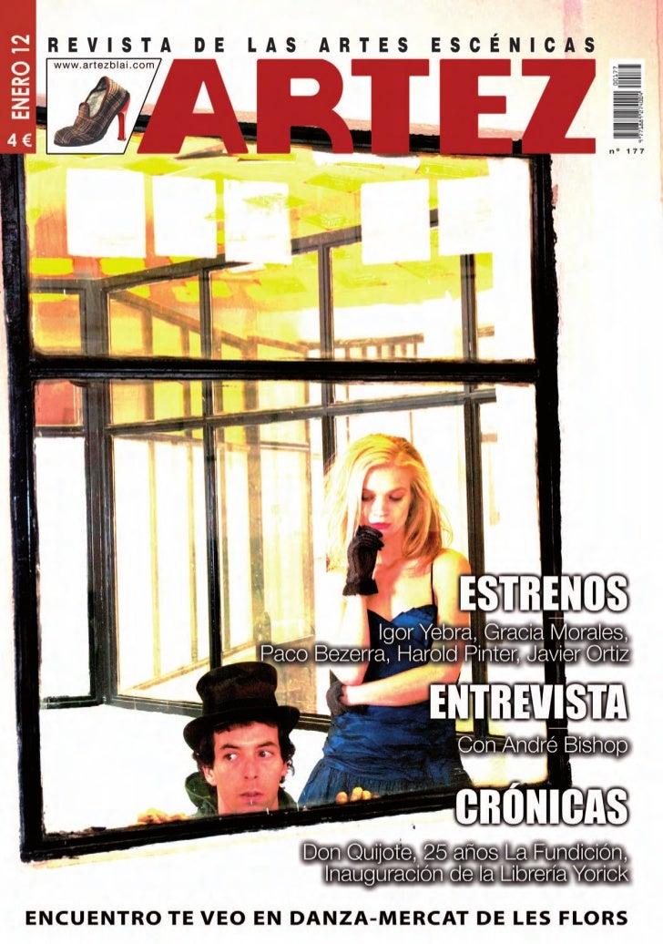 ARTEZ-Revista de las Artes Escénicas nº177