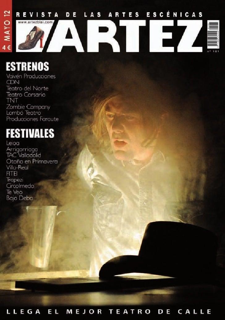 Artez - Revista de las Artes Escénicas nº181