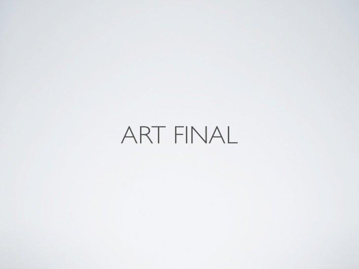 ART FINAL