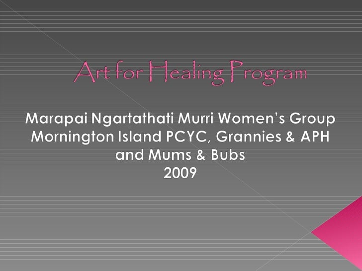 Art Therapy & Trauma: Art Helps Indigenous Women Heal