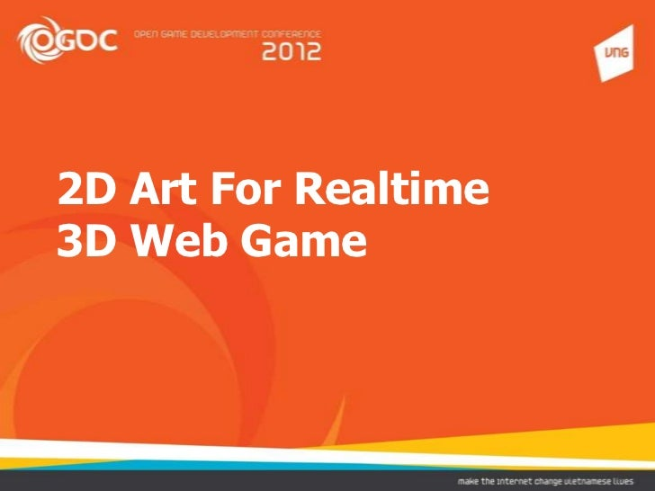 2D art for real time 3D web game