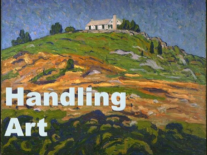 Best Art Handling Practices