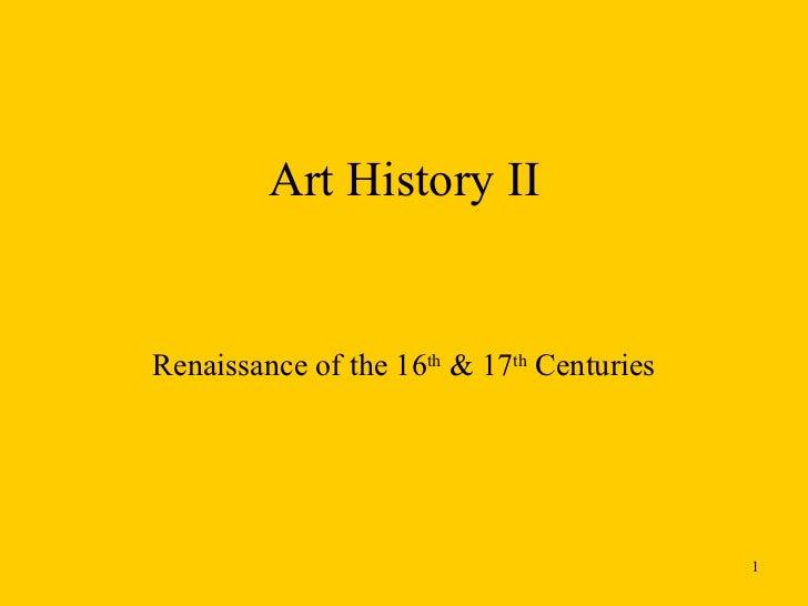 Art History II online part 2