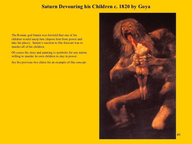 saturn an essay on goya As mythology has always piqued my interest, roman and greek mainly, it is only  natural that saturn devouring his son by francisco goya stopped me from.