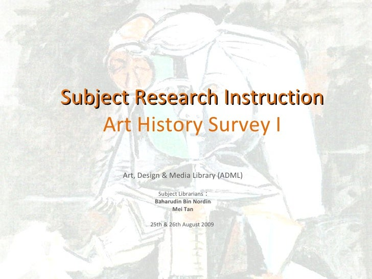Art History Survey 2009
