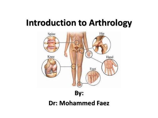 Arthrology