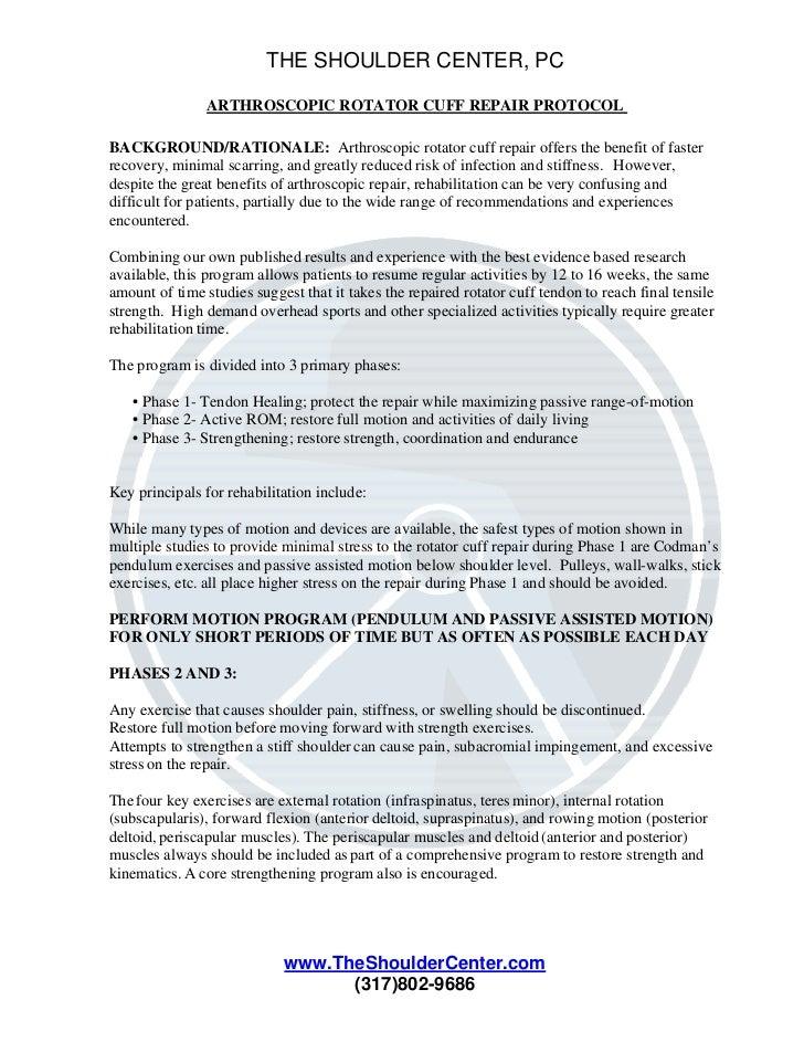 Arthroscopic rotator-cuff-repair-protocol