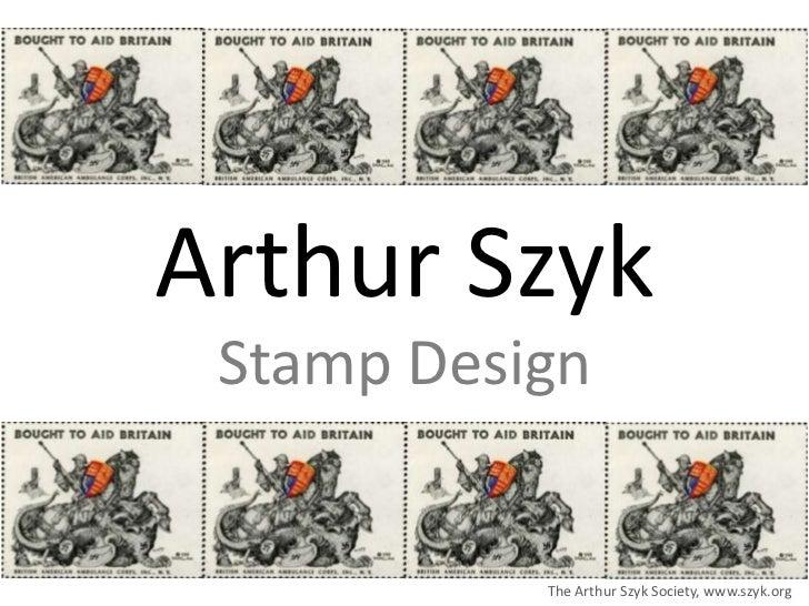 Arthur Szyk: Stamp Design