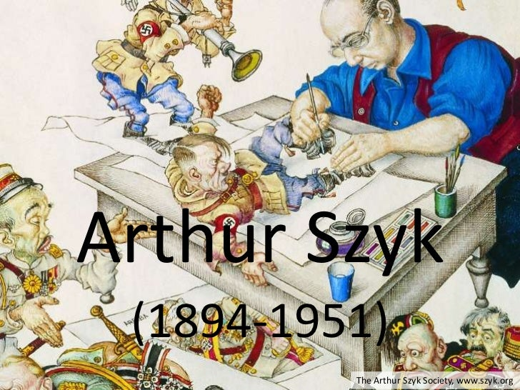 Arthur Szyk: Timeline (1894-1951)
