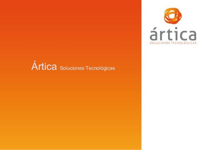 Artica ST - Corporate presentation