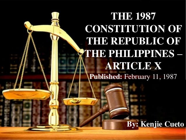1987 constitution of the philippines the Section 1 the first elections of members of the congress under this constitution shall be held on the second monday of may, 1987.