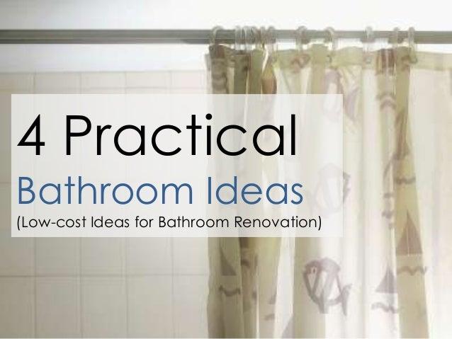 Practical bathroom ideas for Practical bathroom designs