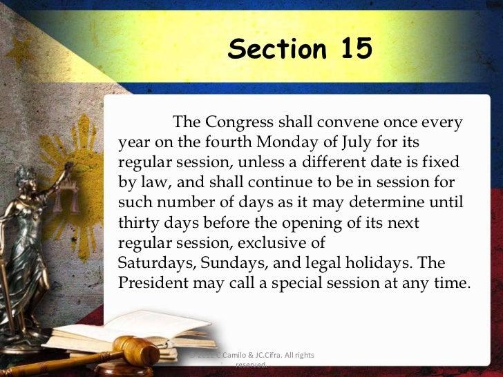 philippine constitution article 5 summary