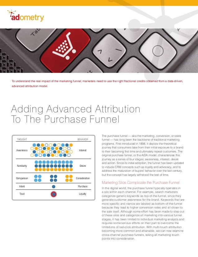Adding Advanced Attribution To The Purchase Funnel