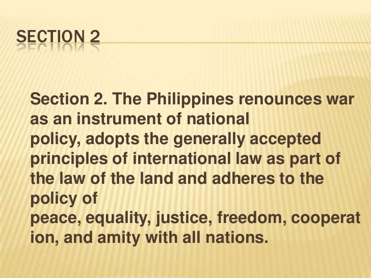 bill of rights philippine constitution 1987 summary