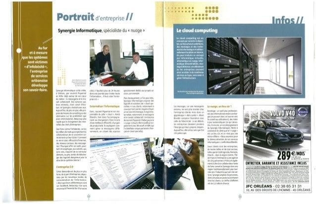 Synergie Informatique TOP 200 entreprises du Loiret République du centre
