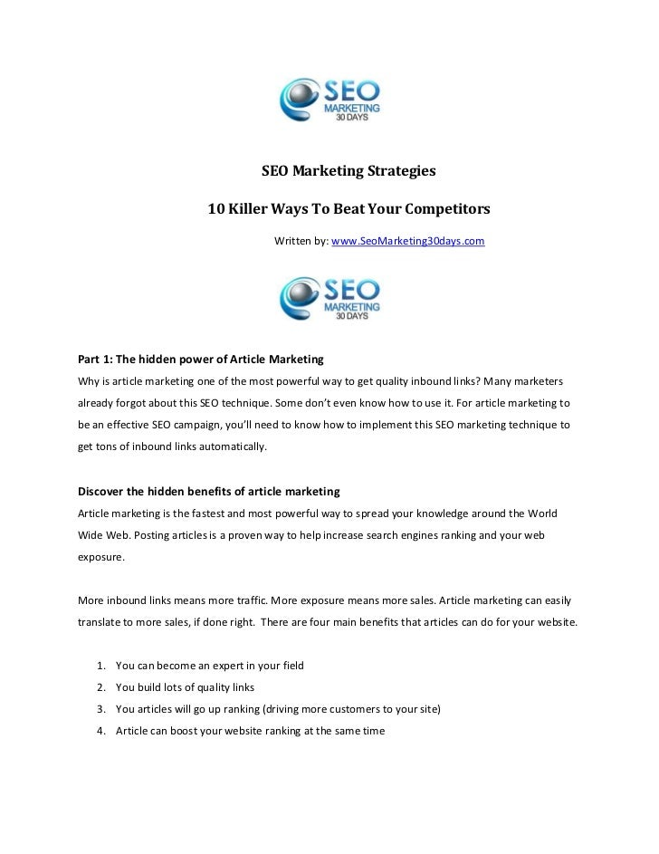 Article marketing hidden power of internet marketing  part 110