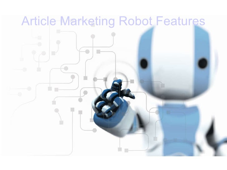Article marketing robot_presentation
