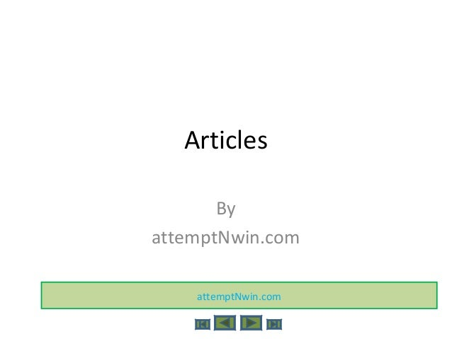 Articles By attemptNwin.com attemptNwin.com