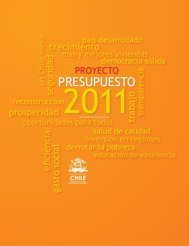 Presupuesto Chile 2011