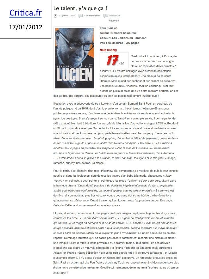 Cri%ca.fr      17/01/2012