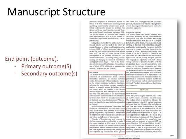 good scientific essay structure