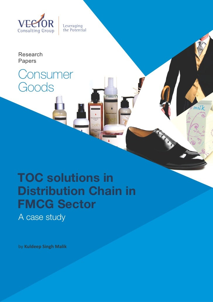 supply chain management in fmcg sector The present paper traces the development and trends of supply chain  management practices followed by fmcg sector in india and suggest the.