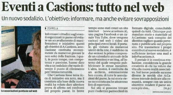 Articolo Mess Ven 14.05.11