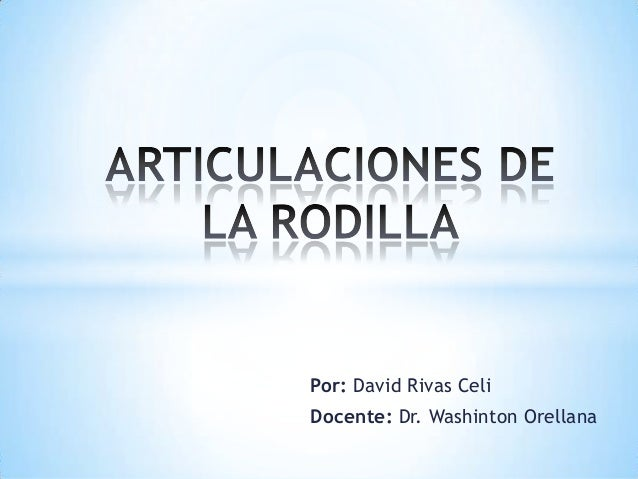Por: David Rivas Celi Docente: Dr. Washinton Orellana