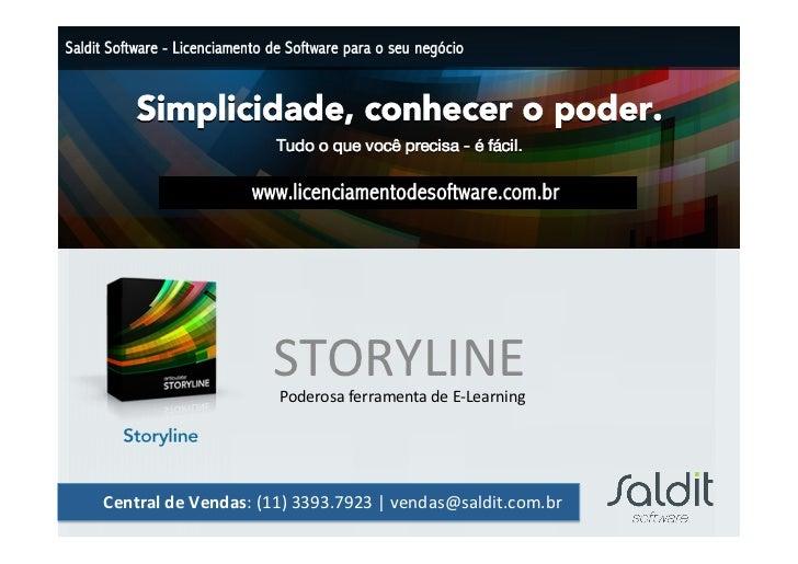 Storyline - Articulate - Compre com a SALDIT