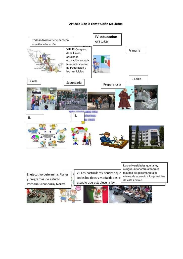 Articulo 3 de la constitución mexicana
