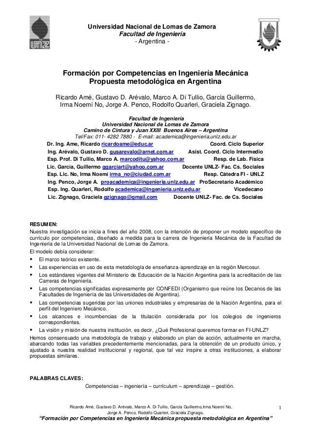 Ricardo Amé, Gustavo D. Arévalo, Marco A. Di Tullio, García Guillermo,Irma Noemí No, Jorge A. Penco, Rodolfo Quarleri, Gra...
