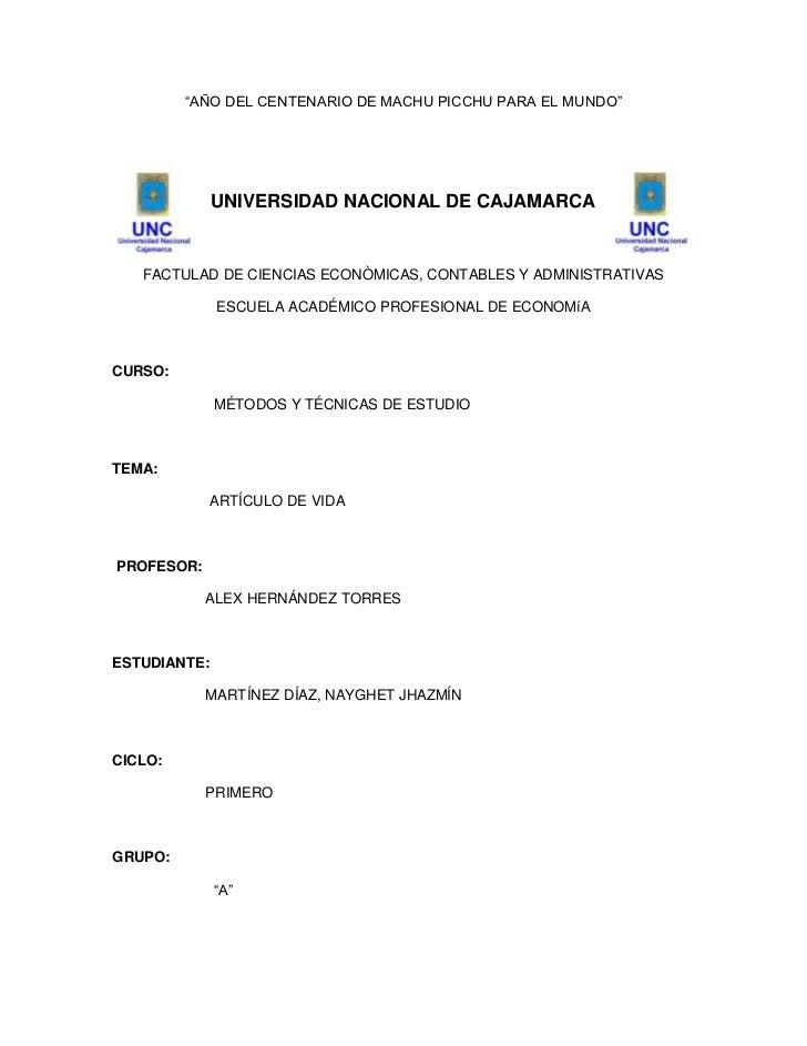 """""""AÑO DEL CENTENARIO DE MACHU PICCHU PARA EL MUNDO""""<br />452041277749-27432080010<br />UNIVERSIDAD NACIONAL DE CAJAMARCA<br..."""