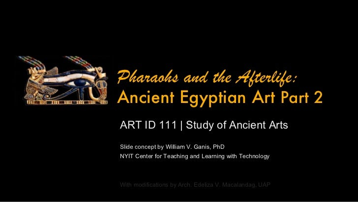 ARTID111 Ancient Egyptian Art - Part 2