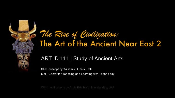 ARTID111 Ancient Near East Art - Part 2